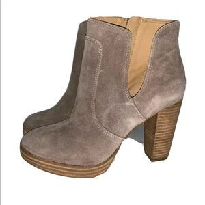 Lucky Brand Lp Quiselle Ankle Booties Size 8M